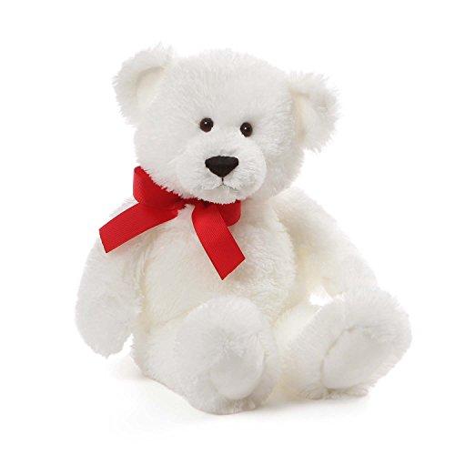 GUND Amor Valentine's Day Teddy Bear Stuffed Animal Plush, White, 15