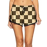 GULEE Checkerboard Chess Board Wooden Chess Board Woman