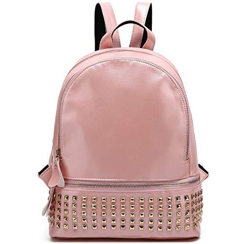 Kenox Girls Pu Leather College Daypacks Multi-function