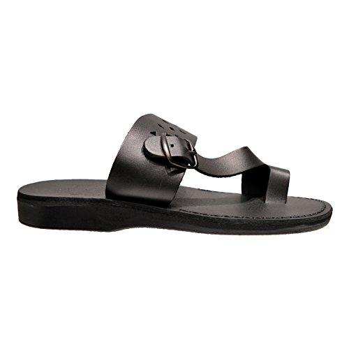 Pantofole Con Cinturino Scorrevole In Pelle Ezra