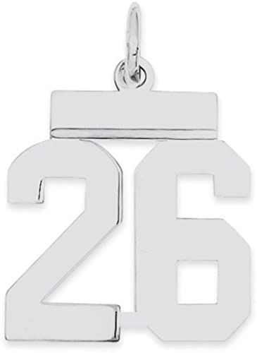 925 Sterling Silver Rhodium-plated Polished CZ Fancy Chain Slide Charm Pendant