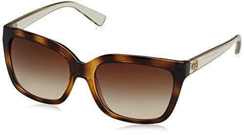Michael Kors Women's Sandestin Tortoise Smokey Transparent Sunglasses (Kors Michael Sunglasses)