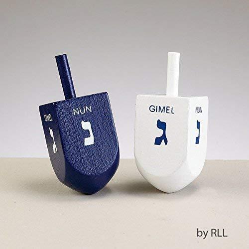 Rite Lite Blue White Dreidels 1 EA