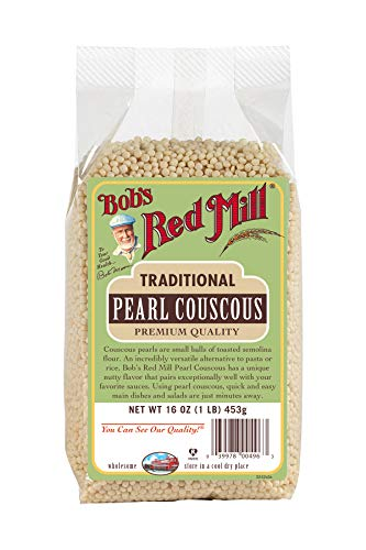 Bobs Red Mill Traditional Pearl Couscous, 16-ounce (Pack of 4)