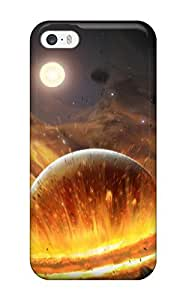 Beautiful Diy Best Iphone 5/5s Planet Impact Gel case cover. Fits Iphone xv5zKZpsDFE 5/5s