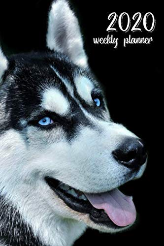 2020-Weekly-Planner-6-x-9-in-Siberian-Husky-52-Weekly-Calendar-Schedule-Organizer-Appointment-Journal-Notebook-for-Husky-fans
