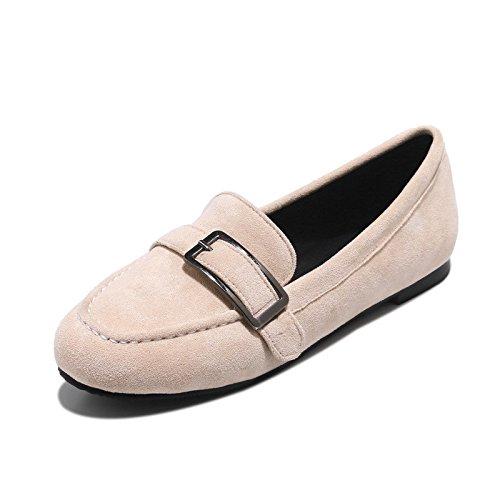Conducción zapatos planos zapatos Zapatos de estudiante a la luz del gran número de boca superficial solo zapatos Meterwhite