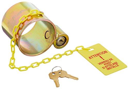 RoadPro RPKPSL3 Standard Duty King Pin Lock with 2 Keys