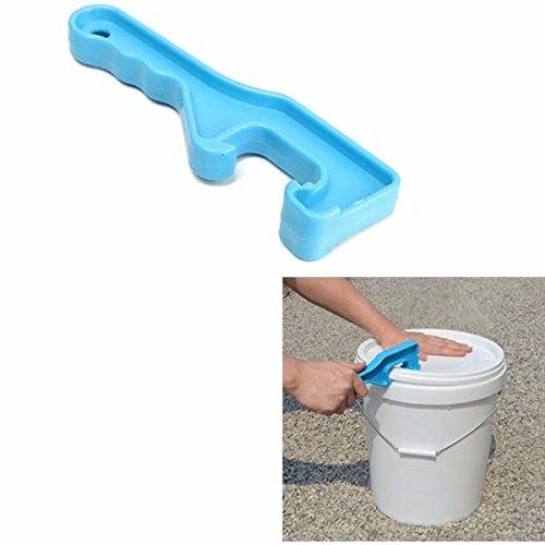 gallon plastic bucket with lid - 7