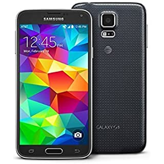 Samsung Galaxy S5 G900A 16GB Unlocked GSM 4G LTE Quad-Core Smartphone 16MP Camera (Renewed) (Black)
