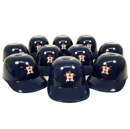 Houston Astros Official MLB 8oz Mini Baseball Helmet Ice Cream Snack Bowls (10)