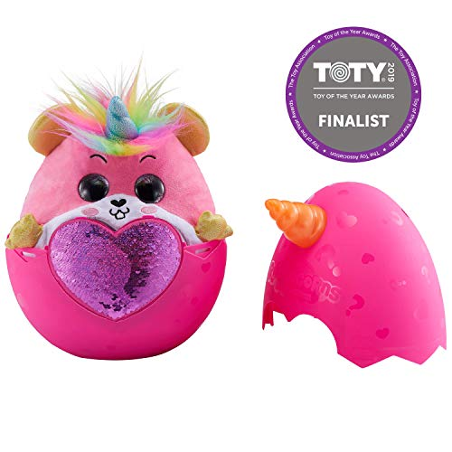 Rainbocorns Hamster Plush Toy, - Hamster Pink