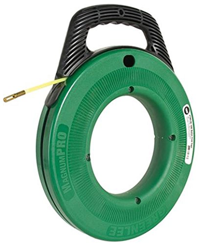Greenlee Textron Inc FTN536-100 - MagnumPro Fish Tape, Tape Length: 100ft, Tape Width: 3/16