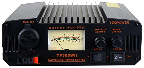 TekPower TP30SWII 30 Amp DC 13.8V Analog Switching Power Supply with Noise Offset ()