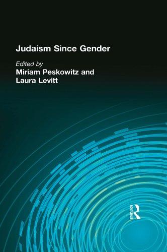 Download Judaism Since Gender Pdf