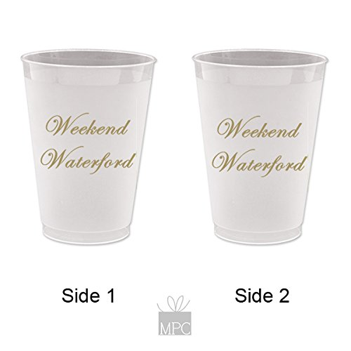 Everyday Frost Flex Plastic Cups - Weekend -
