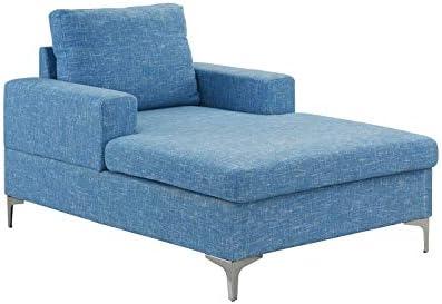 Phenomenal Amazon Com Casa Andrea Milano Modern Chaise Lounge Mid Spiritservingveterans Wood Chair Design Ideas Spiritservingveteransorg