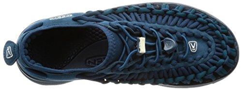 Keen Damen Uneek O2 Trekking-& Wandersandalen Blau (Majolica Blue/legion blue)