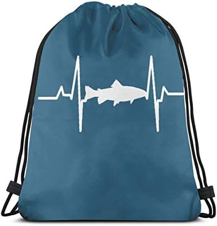 Drawstring Backpack Bag, Cinch Sack, Sport Gym Bag For Women Or Men, Panda With Pizza