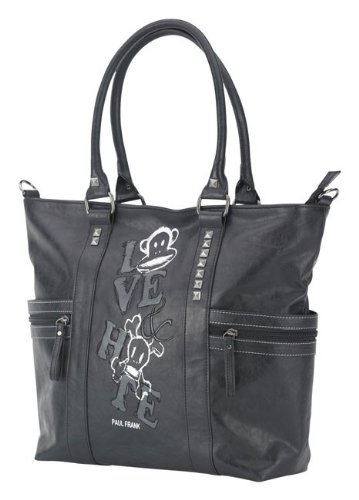 Paul Frank Shopper Fashion tote - black