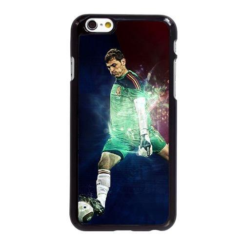 Y1C01 fan Iker Casillas de l'art E5O2WU coque iPhone 6 4.7 pouces cas de couverture de téléphone portable coque noire XD6CDQ2JQ