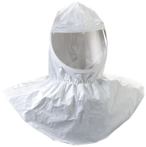 3M H-410-10 Tychem QC Hood with Collar (Pack of 10) by 3M Personal Protective Equipment