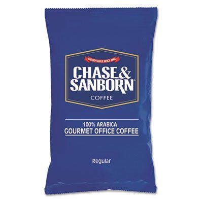 "Chase & Sanborn – Coffee Regular 1.25Oz Packets 42/Box ""Product Category: Breakroom And Janitorial/Beverages & Snack Foods"""