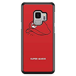 Loud Universe Mario Cap Samsung S9 Case Plumber Hat Samsung S9 Cover with Transparent Edges