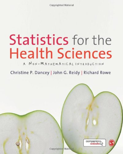 Statistics for the Health Sciences: A Non-Mathematical Introduction