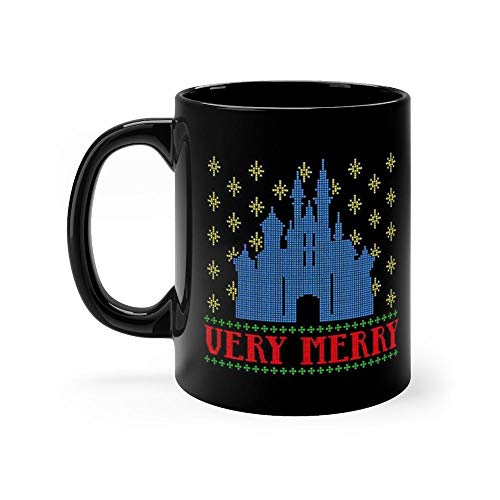 Very Merry Color Mug Coffee Mug 11oz Gift Tea Cups 11oz Ceramic Funny Gift Mug -