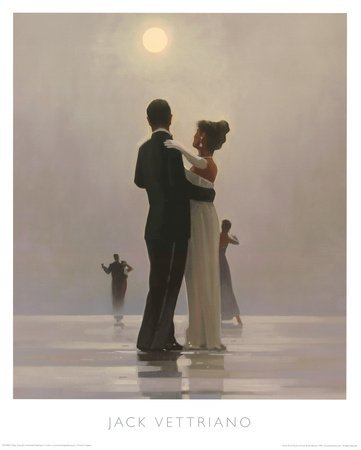 Dance Me To The End Of Love Print By jack Vettriano Size 40 cm X 50 cm by JACK VETTRIANO by JACK VETTRIANO