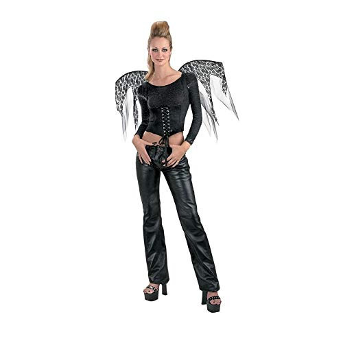 Disguise Wings Black Lace Corset