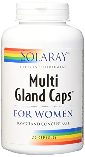 Solaray Multi Gland Caps Supplement for Women, 120 Count Review