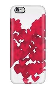 Iphone 6 Plus K Heart Print High Quality Tpu Gel Frame Case Cover