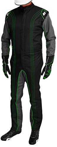 Red, 4X-Small K1 Race Gear CIK//FIA Level 2 Approved Kart Racing Suit