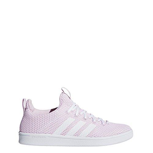 adidas CF ADV Adapt W, Chaussures de Gymnastique Femme Blanc Cassé (Ftwr White/aero Pink S18)