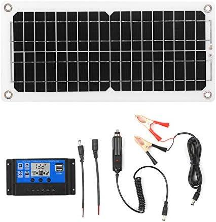 Solarpanel System Kecheer 120W 12V Solarpanel Kit mit Laderegler USB-Anschluss Monokristallines Modul ohne Netz mit SAE-Verbindungskabelsätzen für Camping Car Boat Marine