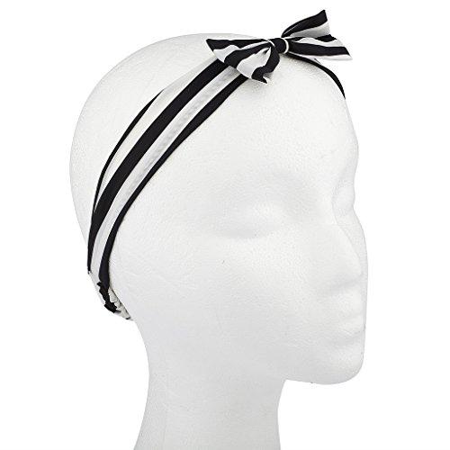 Buy large zebra hair bow