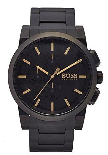 36b41a0ac151 Hugo Boss 1513276 Mens  quot Blackout Neo Reloj cronógrafo Pulsera