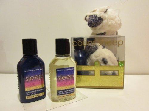 Aromatherapy Honey Vanilla Dream Count Sheep Gift Set 3 P...
