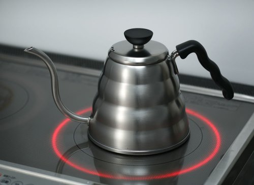 Hario 1.2 Litre 1-Piece Stainless Steel Hario Buono Coffee Drip Kettle 8e7df8d1e32