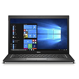 Dell Latitude 7000 7480 Business Ultrabook Laptop, 14in HD LCD, Intel Core i7-6600U, 32GB DDR4 Ram, 512GB SSD, Webcam, Windowns 10 Pro (Renewed)