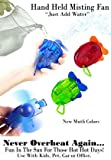 O2-Cool Carabiner Water Misting Fan, Colors May