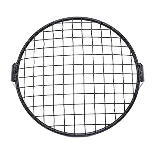 Yunzee Mesh Motorcycle Headlight Net Cover Retro Grill Mesh Universal Encasement Autocycle Components for Racing Car Headlight,Square Grid