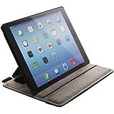 エレコム iPad Air 2 ソフトレザーカバー 4アングルスタンドタイプ ブラック TB-A14PLF2BK