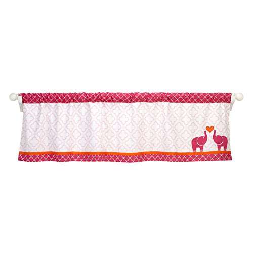 happy-chic-baby-jonathan-adler-party-elephant-valance-pink-orange-white