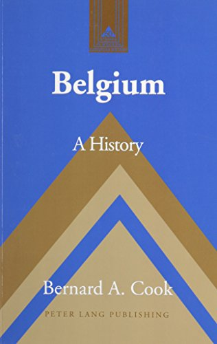 Belgium: A History- Second Printing (Studies in Modern European History) (v. 50)