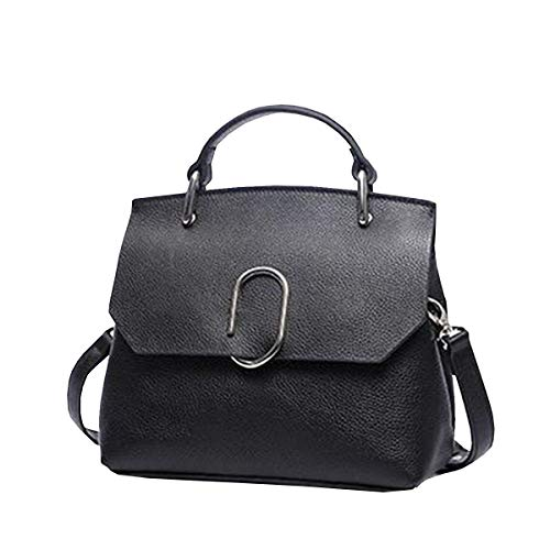 Vague à Main Cuir Sac Sac En Main Sac Sac Diagonale Nouvelle Simple 2018 Mode Main De épaule à Sauvage De à Noir Couleur Sac CH5q7OO