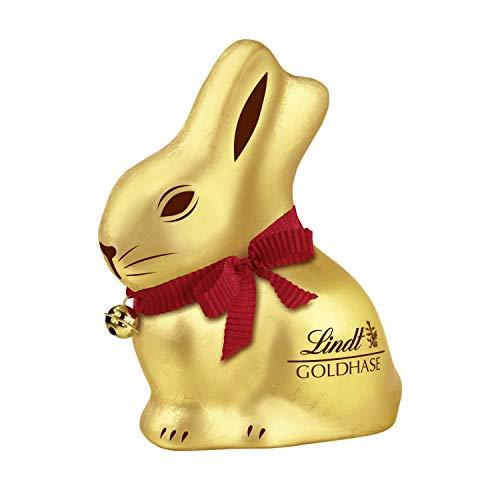Lindt Goldhase - Premium Vollmilch-Schokolade zu Ostern, 4er Pack (4 x 100 g)