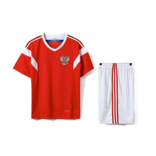 b7a948fefa9 SODIAL Family Breathable Sportswear Soccer Set World Cup Russia Soccer  Jerseys Uniforms Football Kit Shirt Tracksuit(Man